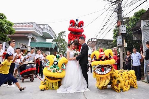 ý nghĩa múa lân ngày cưới