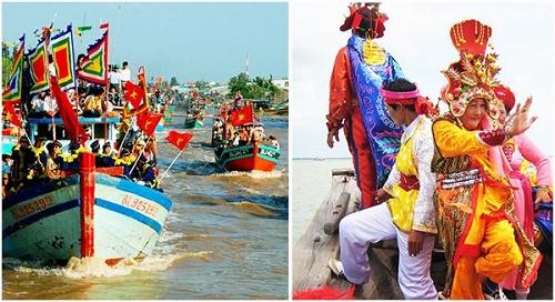 lễ hội cúng biển mỹ long trà vinh