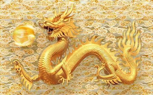 Rồng là linh vật biểu hiện cho sức mạnh